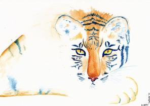 Chinese Zodiac, River of Animals - Tiger