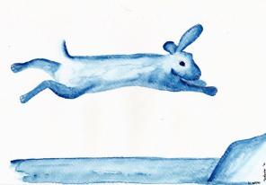 Chinese Zodiac, River of Animals - Rabbit